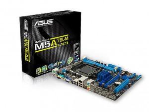 Asus sAM3+ M5A78L-M LX3 Alaplap