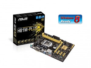 Asus s1150 H81M-PLUS Alaplap