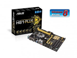 Asus H81-PLUS Alaplap