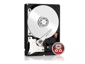 Western Digital Red 3,5 SATA3 4TB/64MB Merevlemez