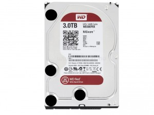 Western Digital Red 3,5 SATA3 3,0TB/64MB Merevlemez