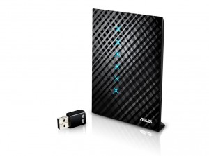 Asus 750Mbps RT-AC52U Router + AC450Mbps USB adapter