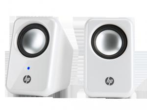 HP 2.0 Multimédiás Fehér USB hangszórók