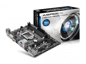 ASRock s1150 H81M-DGS R2.0 Alaplap