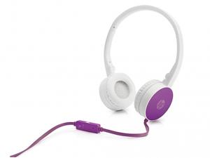 HP H2800 Lila vezetékes sztereó Fejhallgató, mikrofonnal