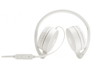 HP H2800 Fehér vezetékes sztereó Fejhallgató, mikrofonnal