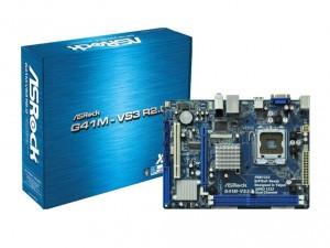 ASRock s775 G41M-VS3 R2.0 Alaplap