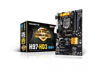 Gigabyte s1150 GA-H97-HD3 Alaplap