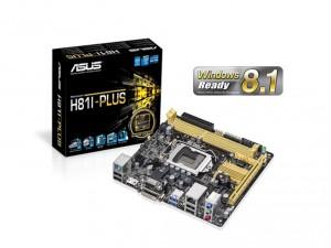 Asus s1150 H81I-PLUS Alaplap