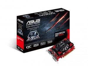 Asus Videokártya PCIe AMD R7 250 2GB DDR3