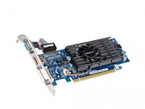 GIGABYTE Videókártya PCIe NVIDIA 210 1GB DDR3