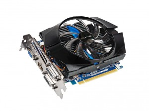 GIGABYTE Videókártya PCIe NVIDIA GT 740 2GB GDDR5 OC