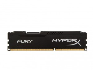 Kingston Memória HyperX Fury Black - DDR3 1600MHz / 4GB - CL10