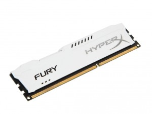 Kingston Memória HyperX Fury White - DDR3 1866MHz / 4GB - CL10
