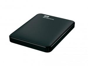 Western Digital 750GB Elements Fekete Külső merevlemez