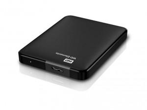 Western Digital Elements 500GB USB3.0 - Fekete Külső merevlemez