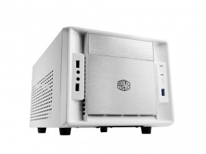 Cooler Master Ház Elite 120 Advanced White - Mini ITX