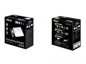 Asus Külső DVD író SDRW-08D2S-U Lite Fehér Dobozos Slim