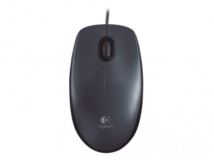 Logitech M 90 Optical Dark Grey egér