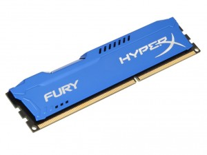 Kingston Memória HyperX Fury Blue - DDR3 1866MHz / 4GB - CL10