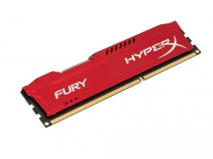 Kingston Memória HyperX Fury Red - DDR3 1866MHz / 4GB - CL10