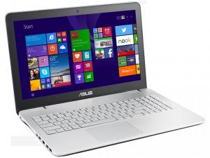 ASUS N551JM XO189D laptop (Intel® Core™ i5-4200H Processzor/4GB/1TB/NVIDIA GeForce GTX 860M/DOS/Ezüst - szürke)