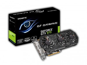 GIGABYTE Videókártya PCIe NVIDIA GTX 970 4GB GDDR5