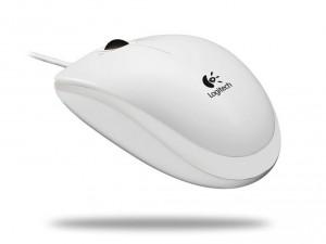 Logitech B100 fehér egér