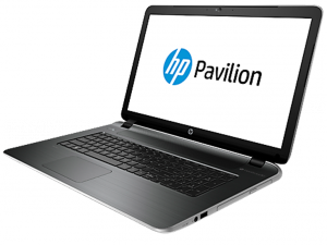 HP Pavilion 17-F201NH laptop (AMD A4-6210/4GB/500GB/AMD Radeon R3/Windows 8.1/Ezüst - szürke)