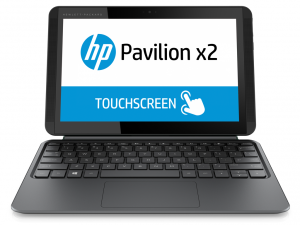 HP Pavilion x2 - 10-k000nh laptop (Intel® Atom™ Processzor Z3736F/2GB/32GB/Intel® HD Graphics/Windows 8.1/Hamvas ezüst - Matt felület)