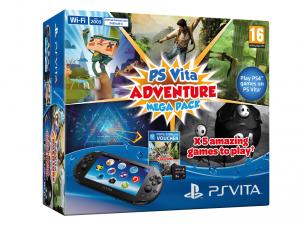 SONY PS Vita Konzol Wi-Fi 2000 + 8GB memóriakártya + Adventure Mega Pack