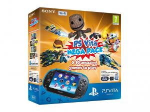SONY PS Vita Konzol Wi-Fi + 16GB memóriakártya + Mega Pack 1