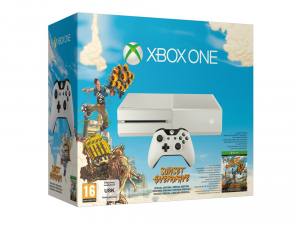 Microsoft Xbox One 500GB Fehér Konzol Special edition Sunset Overdrive