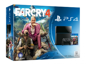 SONY PS4 500GB Konzol + Far Cry 4