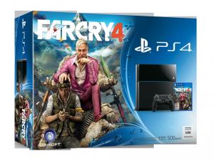 SONY PS4 500GB Konzol + Far Cry 4