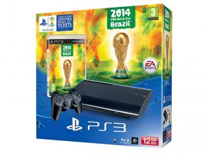 SONY PS3 12GB Konzol + Fifa World Cup