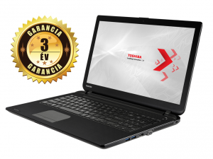 Toshiba Satellite C50-B-149 laptop (Intel® Core™ i3-4005U Processzor/4GB/500GB/Intel® HD Graphics 4400/DOS/Fekete)