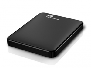 Western Digital Elements 2TB USB3.0 Fekete Külső merevlemez