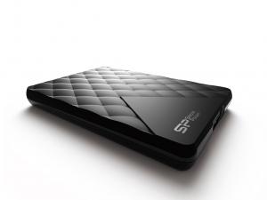 Silicon Power DIAMOND D06 1TB USB3.0 Fekete Külső merevlemez