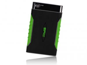 Silicon Power ARMOR A15 - 1TB USB3.0 -Fekete/Zöld Merevlemez