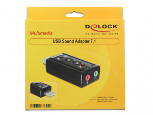 DeLock USB Sound Adapter 7.1 USB hangkártya