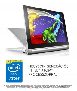 Lenovo Yoga 2 Tablet 10 (Intel® Atom™ Processzor Z3745 1,33GHz Bay Trail-T/2GB/16GB eMMC/10,1 col/ Android 4.4 (KitKat)/WIFI)