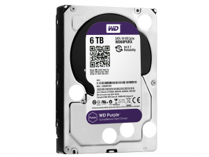 Western Digital Purple 3,5 SATA3 6,0TB/64MB Merevlemez