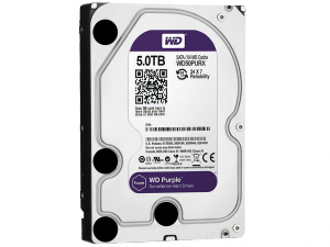 Western Digital Purple 3,5 SATA3 5,0TB/64MB Merevlemez