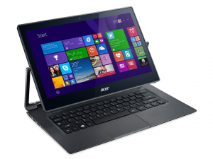 Acer Aspire 13,3 FHD IPS Multi-touch R7-372T-7695 - Acélszürke - Windows® 10 Home Intel® Core™ i7-6500U - 2,50GHz, 8GB DDR3 1600MHz, 256GB SSD + 256GB SSD, Intel® HD Graphics 520, WiFi, Bluetooth, HD Webkamera, Windows® 10 Home, Fényes Kijelző