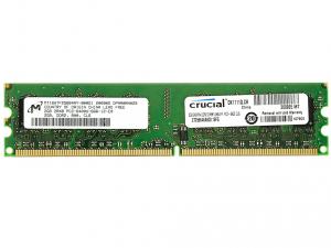 Crucial Memória DDR2 800MHz / 2GB - CL6