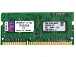 Kingston Laptop Memória DDR3 1600MHz / 4GB - CL11