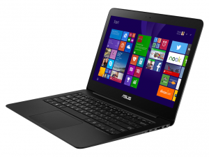 ASUS 13,3 FHD UX305UA-FC001T - Fekete - Windows® 10 64bit Intel® Core™ i5-6200U - 2,80GHz, 8GB, 256GB, Intel® HD Graphics 5500, WiFi, Bluetooth, Webkamera, Windows® 10 64bit, Matt kijelző
