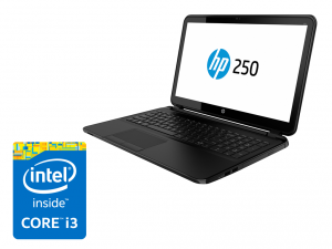 HP 250 G3 laptop (Intel® Core™ i3-4005U Processzor/4GB/500GB/Intel® HD Graphics 4400/Windows 8.1/Fekete)