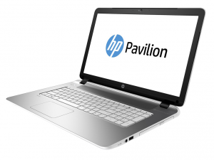 HP Pavilion 15-P257NH laptop (Intel® Pentium Dual Core™ N3540/4GB/500GB/Intel® HD Graphics/DOS/Fehér/Ezüst)